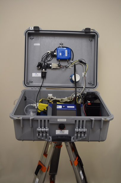 CAMP Enclosure with Telemetry TSI Dust Trak
