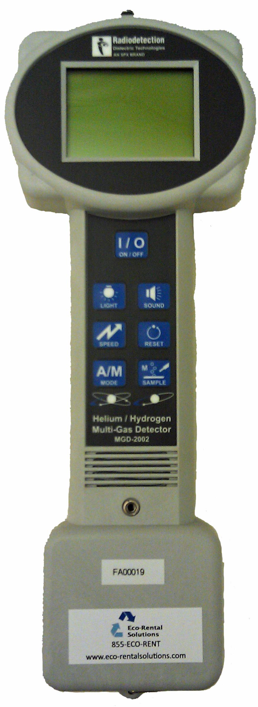 Rent MGD 2002 Helium Detector