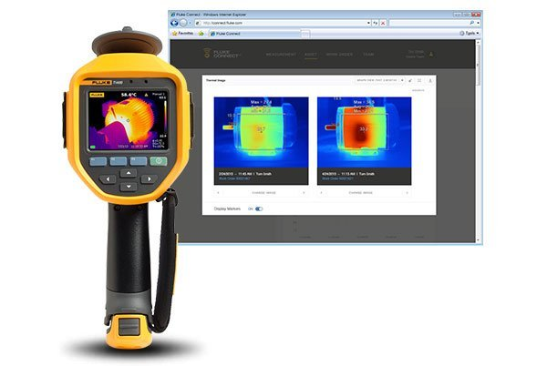 Rent Fluke Ti400 Infrared Camera